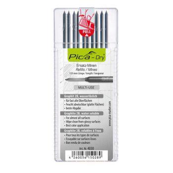4260056150289 Pliiatsisüdamik PICA-Dry 2B grafiit (10/tk pakk)