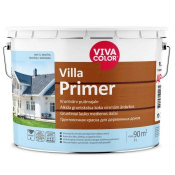 Kruntvärv puitmajale Vivacolor Villa Primer AP 2,7L