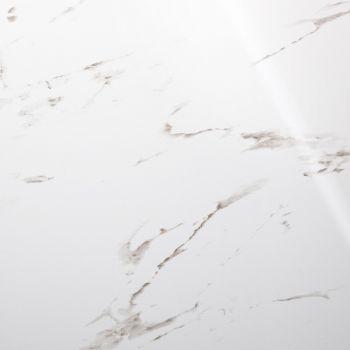Alumiinium-komposiitplaat 1490x610x3mm harjatud must/valge marmor 4742486007451