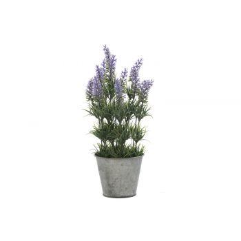 Kunstlill Lavendel tsinkpotis 33cm 6410413119710