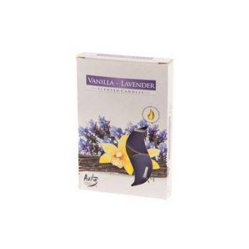 Teeküünal 6tk vanill-lavendel