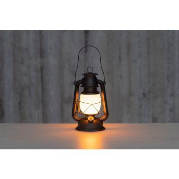 Latern 4living LED 27cm multifunktsionaalne soe/valge