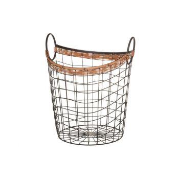 Korv Olga metallist 33x32,5x39,5cm