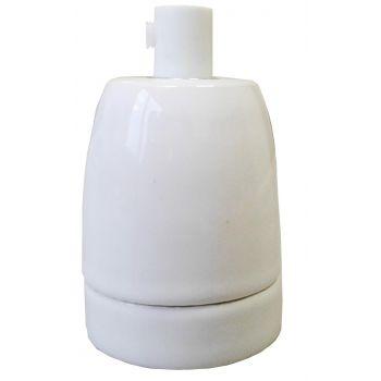 Lambipesa E27 keraamiline valge 4743157028003