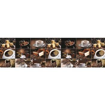 Köögitagaseina dekoratiivplaat 448 kohv 4680439011448