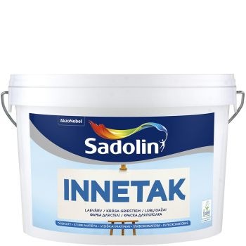 Laevärv Sadolin Innetak 2,5L, täismatt, valge