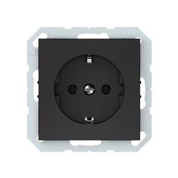 Pistikupesa QR maandusega raamita must