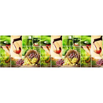 Köögitagaseina dekoratiivplaat 356 vein 4680439011356