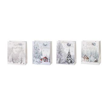 Kinkekott Merry Christmas 26x12x32cm valik