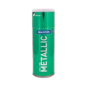 Aerosoolvärv Maston metallik roheline 400ml 6412492108173