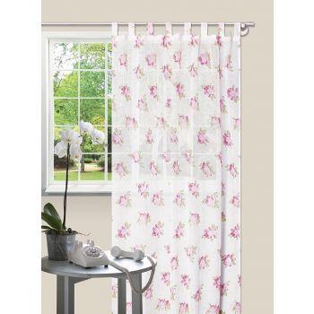 Kardin Jasmine 140x245 roosa