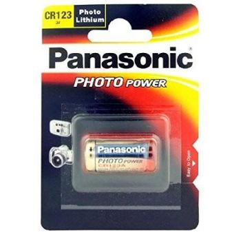 Panasonic patarei CR123A