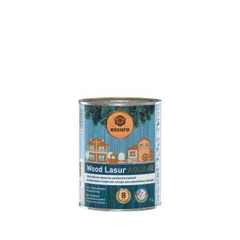 Puidulasuur Wood Lasur Aqua valge 1L 4740381015403