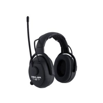 Zekler 412R kõrvakl+FM Level2 must 7391272240557