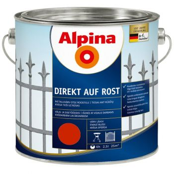 Alpina Direkt auf Rost 2,5L tulipunane
