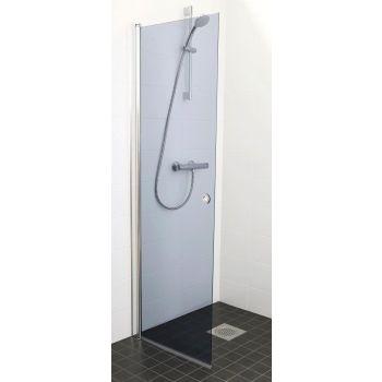 Pöördehingega dušisein 850mm hall klaas