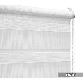 Ruloo Duo 160x175 DN01 valge