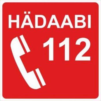 Kleebis Hädaabitelefon 10x10