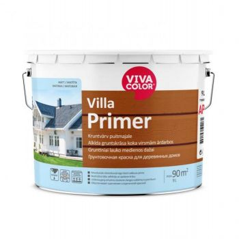 Kruntvärv puitmajale Vivacolor Villa Primer AP 9L
