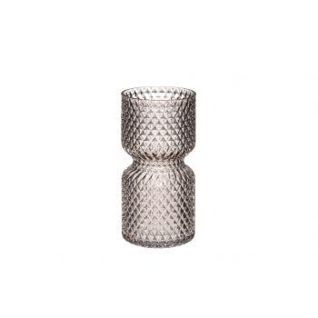 Lillevaas Drop klaasist 20cm hall