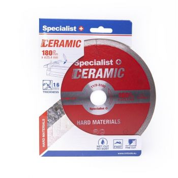 Teemantketas Specialist Ceramic 180x25,4 / 8x1,8 4779039132377