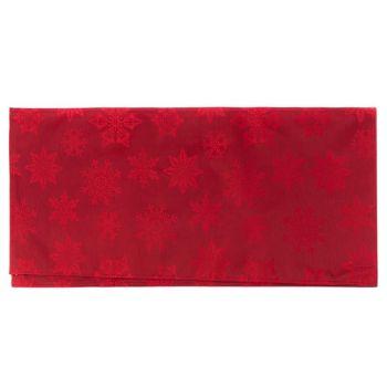 Laudlina Lumehelbed 30x180cm punane