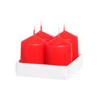 Küünal Polar 4tk/pk punane