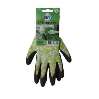 Töökindad HW Lily rohelised 9 4742777007337 HW306.09