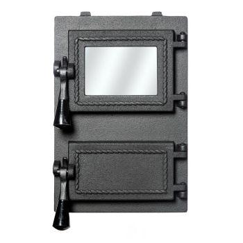 Ahjuuks klaasiga 205x330mm
