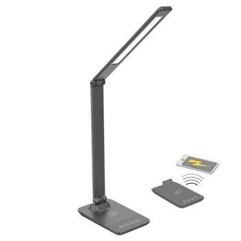 LED-laualamp 10W 400lm, hall, juhtmevaba laadija   8592718024055