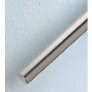 Trepikäsipuu toru 40x1x3600 harjatud nikkel