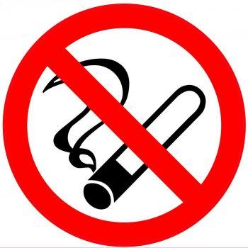 Kleebis Suitsetamise keeld 20x20
