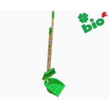 Põrandahari+kühvel Bio poolpika varrega 8000798391009