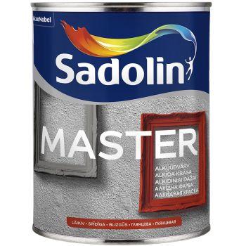 Puidu- ja metallivärv Sadolin Master 90 1L, läikiv, valge (BW)