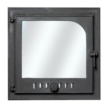Kaminauks klaasiga 48x48cm