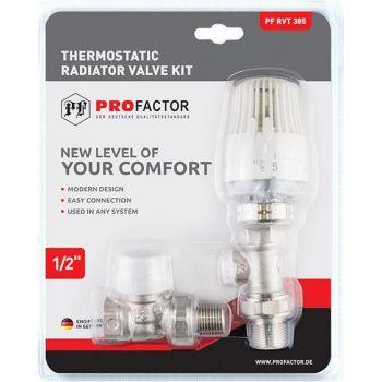 """Radiaatori ventiilide kmpl 1/2"""" 2462013900841 Radiaatorid ja tarvikud 59010"""