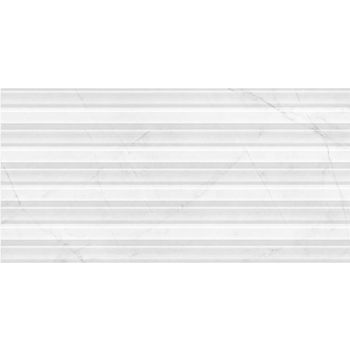 Absolute Modern White Wave seinaplaat 30x60