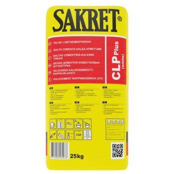 Lubitsementkrohv Sakret CLP+ hall 25kg