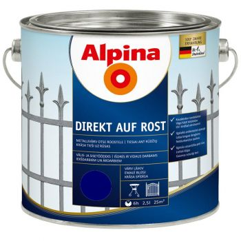 Alpina Direkt auf Rost 2,5L sinine
