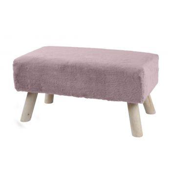 Pink Banc 65x35x31cm roosa