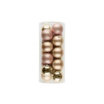 Kuuseehted 18tk 8cm roosa kuld 6410413183995