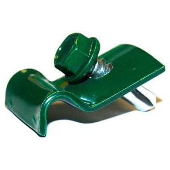 Traadi klamber+kruvi roheline