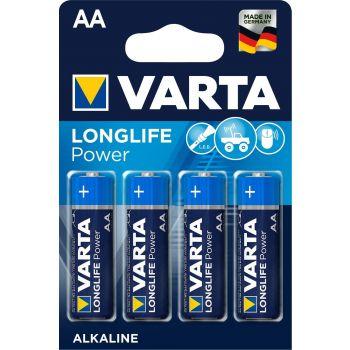 Patarei Varta LongLife Power AA/LR6  4-pakk 4008496559435