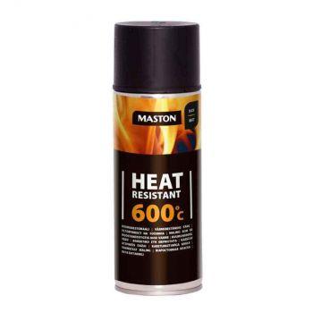 Aerosoolvärv Maston 600c 400ml must kuumak. 6412497102213