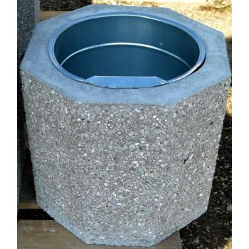 Prügikast betoonist D32/H29cm hele 4744653010615