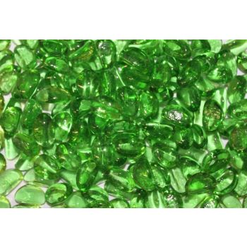 Dekoratiivkivi roheline 1,5kg 10-20mm