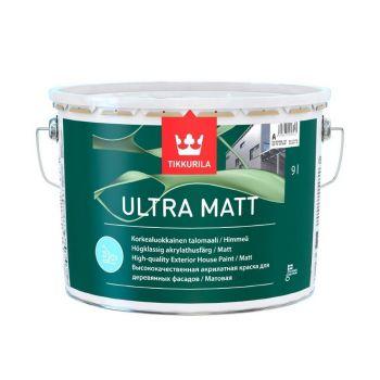Puitfassaadivärv Tikkurila Ultra Matt A 2,7L