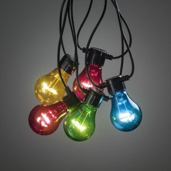 Valguskett 20LED värviline 9,5m 7318302379506