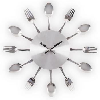 Seinakell lusikate-kahvlitega