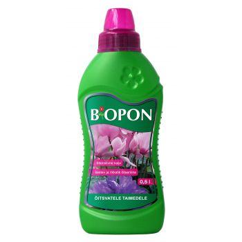 Väetis Biopon õitsvatele taimedele 500ml